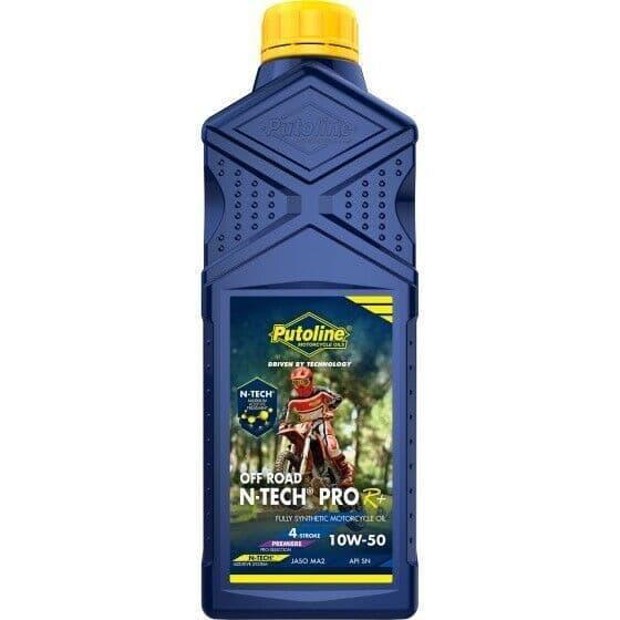 Putoline N-Tech Pro R+ Off Road 10W/50 Fully Synthetic MX Motorbike Oil 1L
